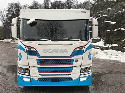 "XL-Zonneklep ""BOW"" Scania R/S Next Gen 2017+"