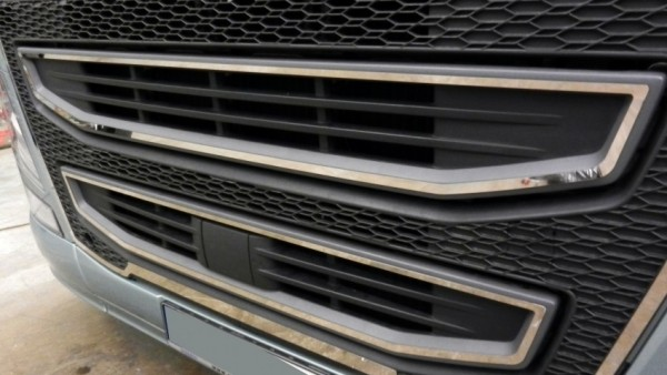 Stainless grillcontour VOLVO FH4 (INNER)