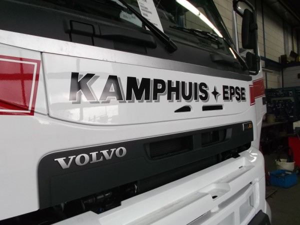 "Front Panel Volvo FM/FMX ""Volvo Winter White 1103"""