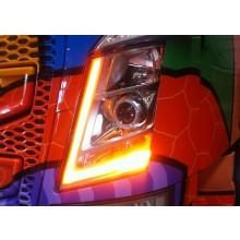 Oranje LED unit voor originele stadslicht Volvo FH4 (L+R) tot 06-2015