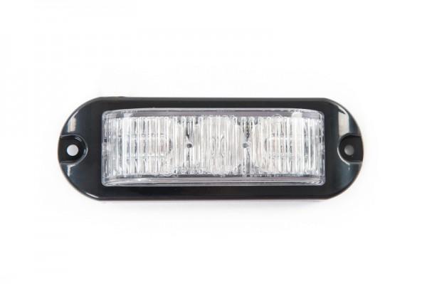 180º LED 3 white flash led's