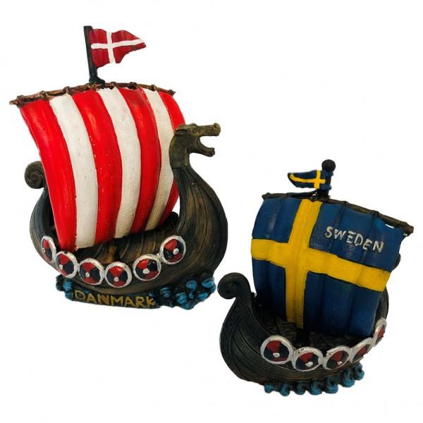 !Combodeal! Deens en Zweeds vikingbootje