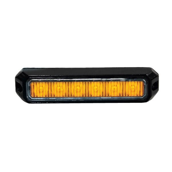 6x3W flash orange mini LED