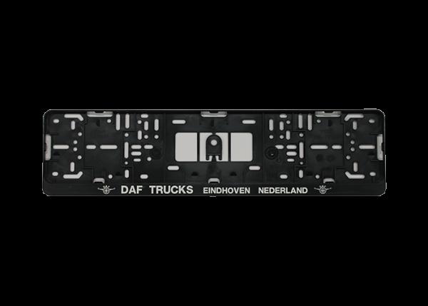 DAF number plate holder