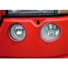 RVS Scania R Mist/dagrijlamp applicatie 4 delig