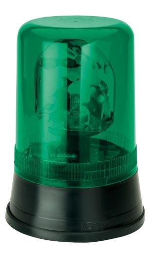 Aeb zwaailicht 595 24V - groen lampglas
