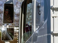 Volvo FH mirrors with LED turn signal