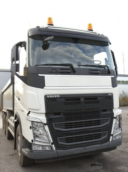 """Frontplaat grill VOLVO FH 4 """"VOLVO WINTER WHITE 1103"""""""