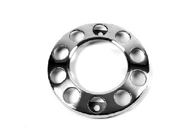 "Wheelnut Protector Ring 17,5"" & 19,5"" With Open Center for Steel Rims"