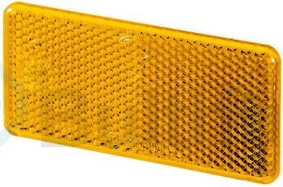 Reflector geel 94x44mm