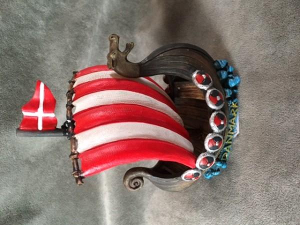 Vikingschip Danmark 12cm
